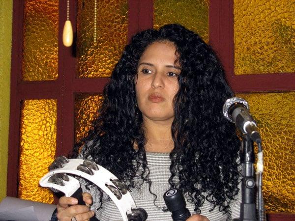 Cantante Marbely Blandón