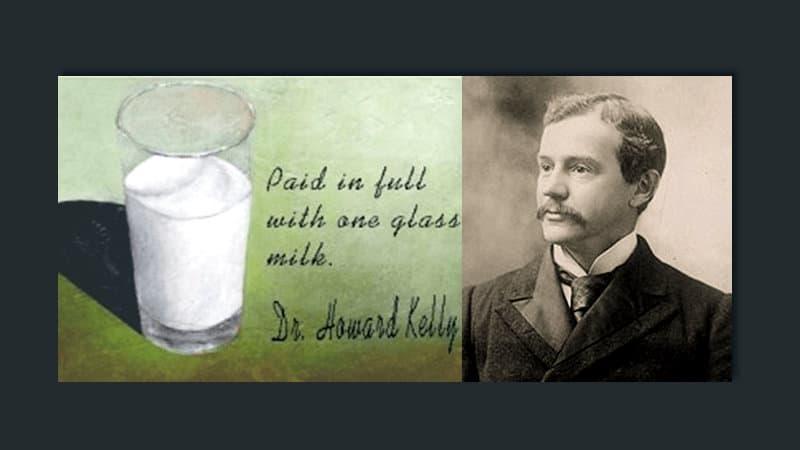 Pagado con un vaso de leche — Reflexiones de Fé y Esperanza