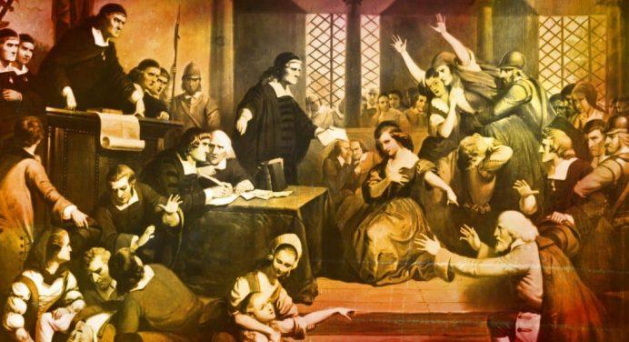 Primera caza de brujas americanas