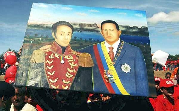 El fallecido mandatario siempre citó al Libertador. Una comparación entre ambas figuras latinoamericanas