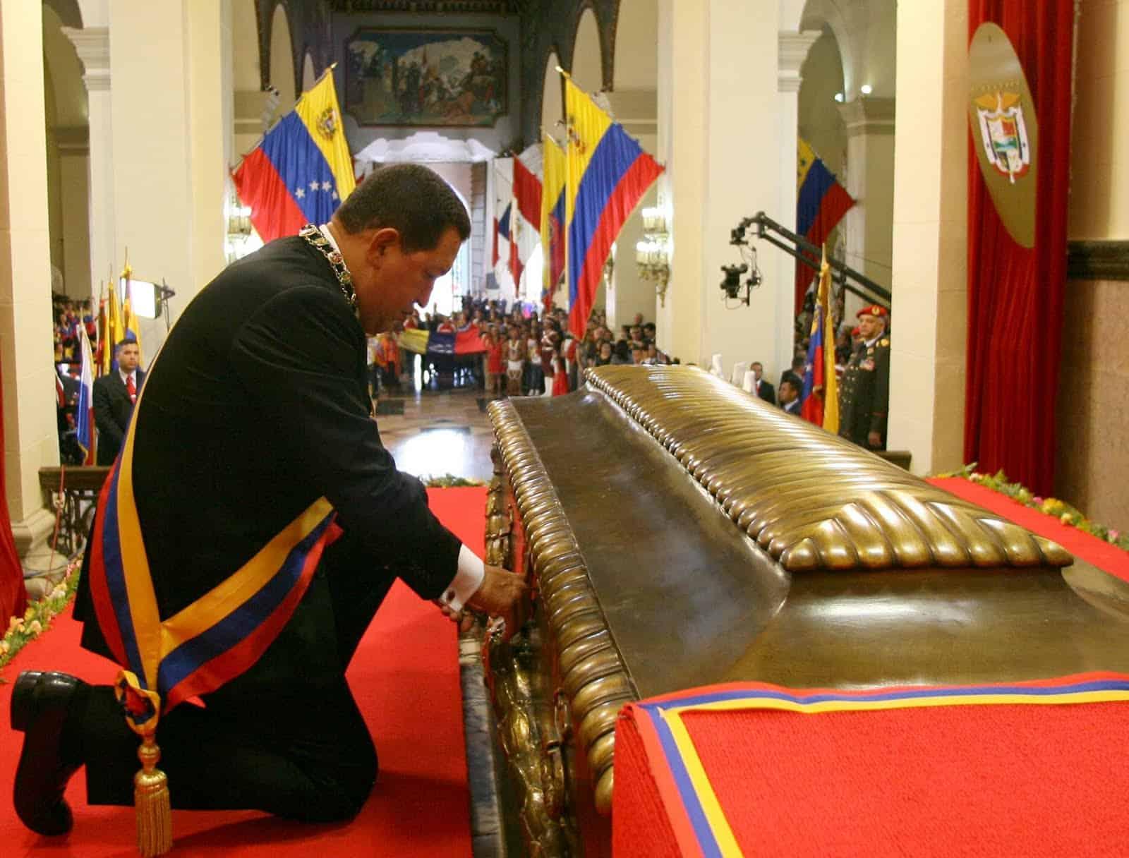 Maldición de Simón Bolívar