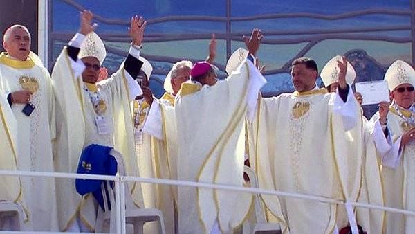 ¡Flash Mob de récord! para el Papa Francisco