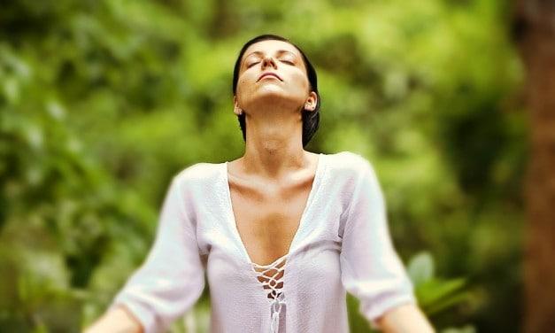 ¡Alto! Respire y siéntase bien