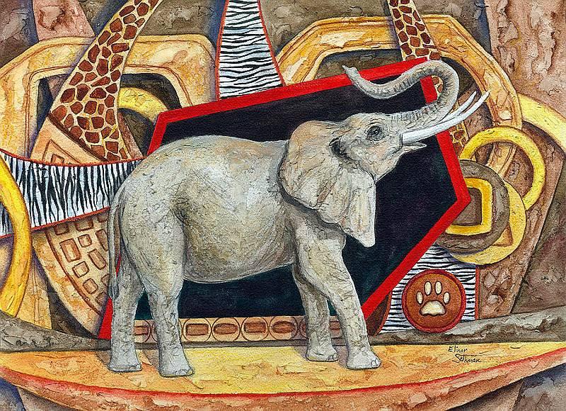 Elefantes para la buena suerte Para la buena suerte