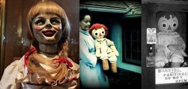 Annabelle, la muñeca diabólica de El Conjuro