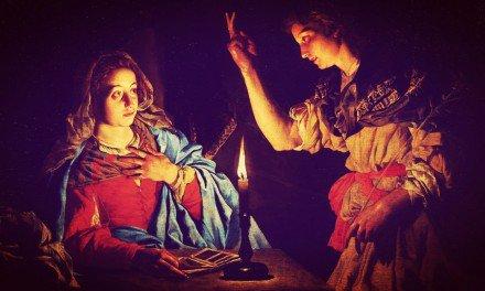 La primera Navidad — La Anunciación del Ángel a la Virgen María