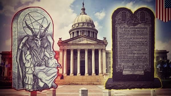 Monumento a Satán para Capitolio de Oklahoma