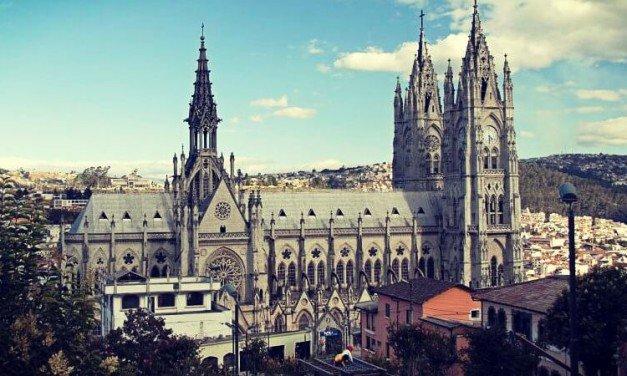 Las iglesias del centro de Quito, Ecuador