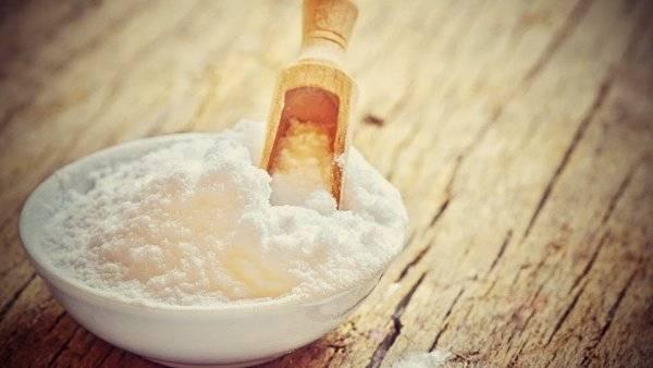 Baja de peso con el bicarbonato de sodio
