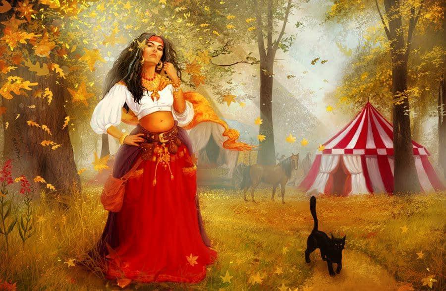 Magia Gitana — A las sacerdotisas o brujas se les llaman Shuvanis