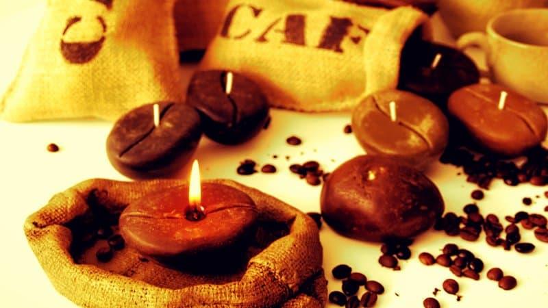 Reutilizando velas viejas y posos de café para aromatizar