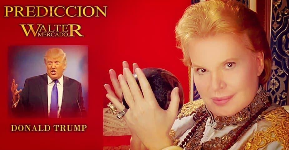 Walter Mercado — Donald Trump cree que con dinero puede comprar todo, ¡pero se equivoca!