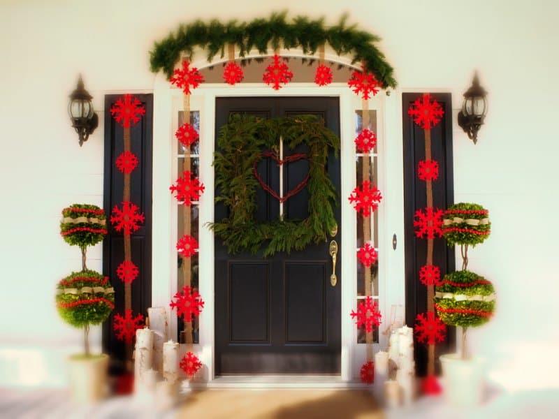 Navidad 2015 — Ideas para tu Puerta de Entrada