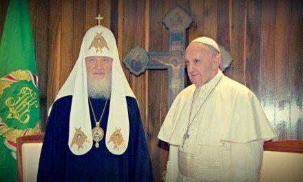 La reunión del patriarca Kiril y el papa Francisco