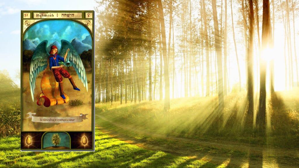 Ángel Hahasiah – Número 51 – Dios oculto