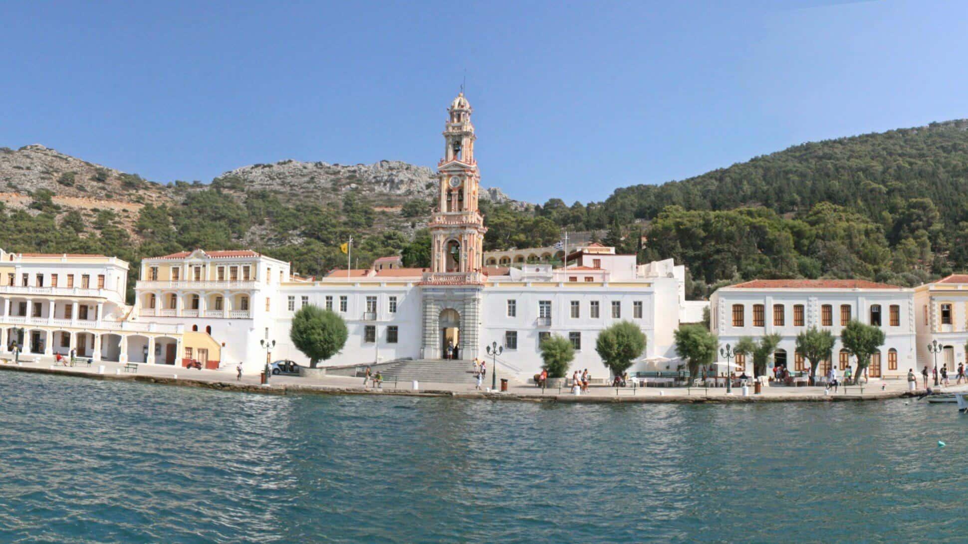 Monasterio de Symi (Grecia)