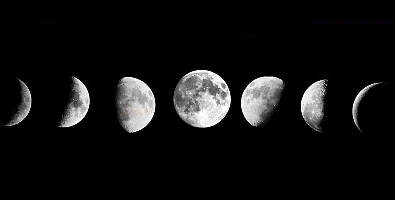 Calendario y Fases Lunares Diciembre 2017