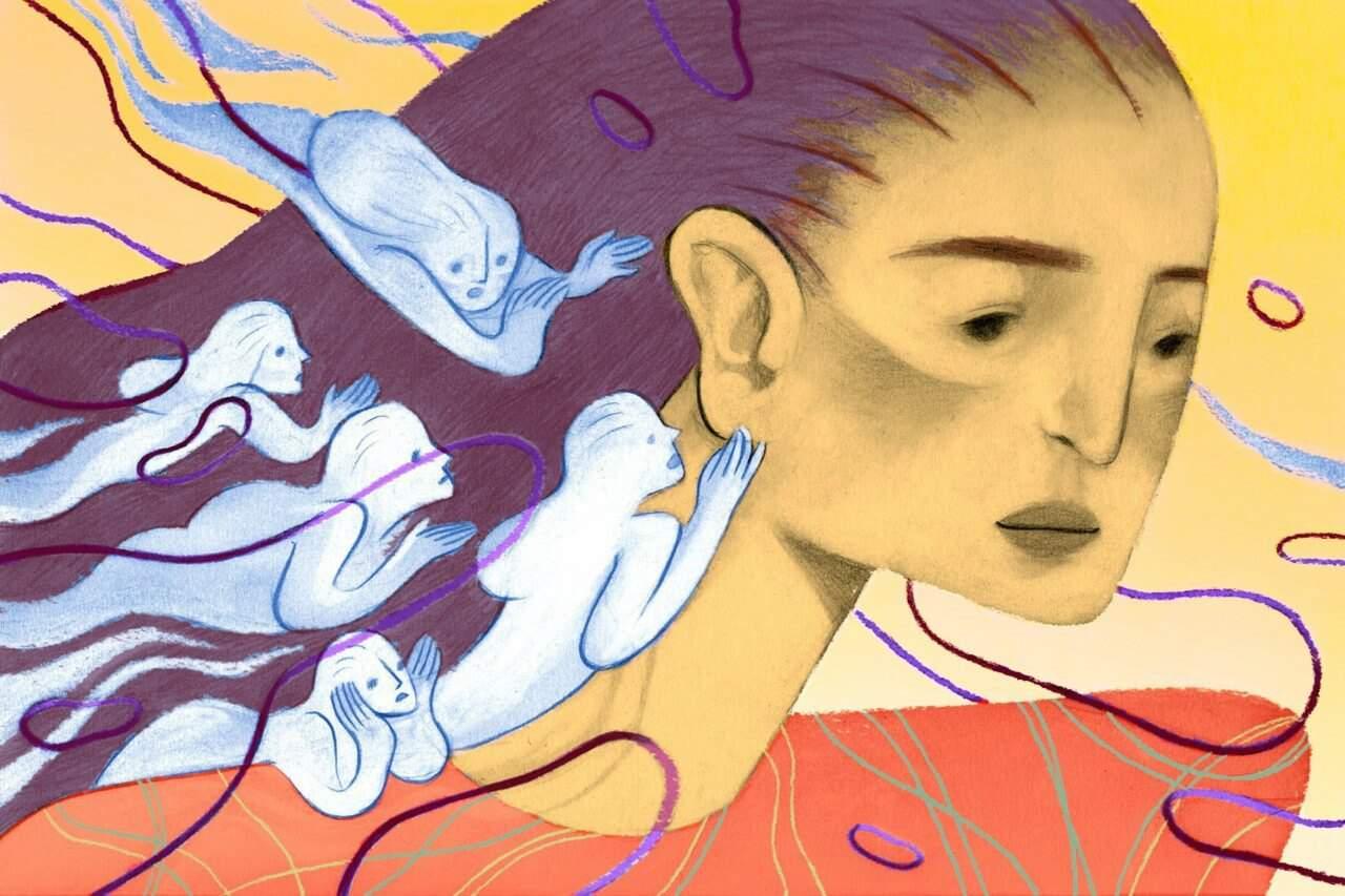 Rachel Waddingham convive con más de cinco voces en su mente