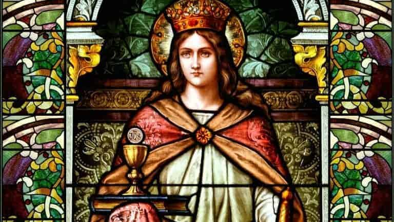 Leyenda E Historia De Santa Bárbara Santos Católicos